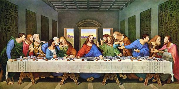 La peinture de la Cène où Jésus était soupçonné d'avoir bu du Saint Graal, qui était considéré comme un élixir de vie.  (Leonardo da Vinci / Domaine public)