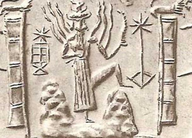 La divinità sumera, Utu