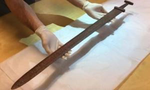 Image result for found viking sword