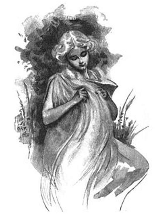 Dea Sif, moglie di Thor, era rinomato per le lunghe trecce d'oro che sono stati associati con il grano, la fertilità e la famiglia.