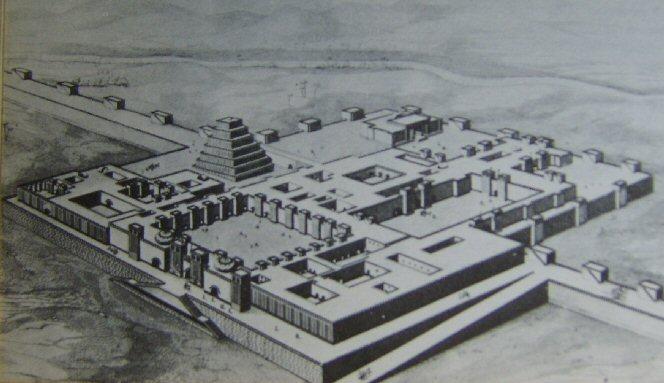 Khorsabad ziggurat