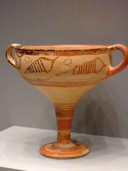 Mycenaean Stemmed Cup