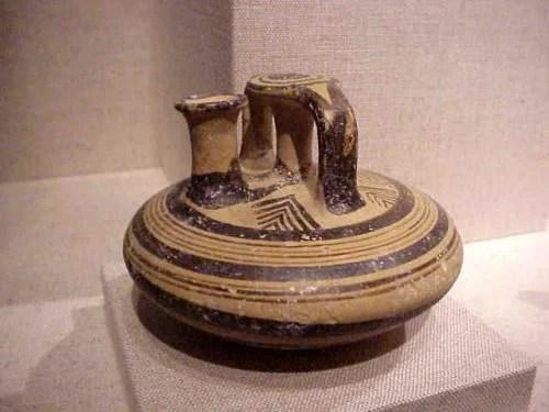 Mycenaean Stirrup Jar