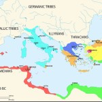 Map Of The Mediterranean 218 Bce Illustration Ancient History Encyclopedia