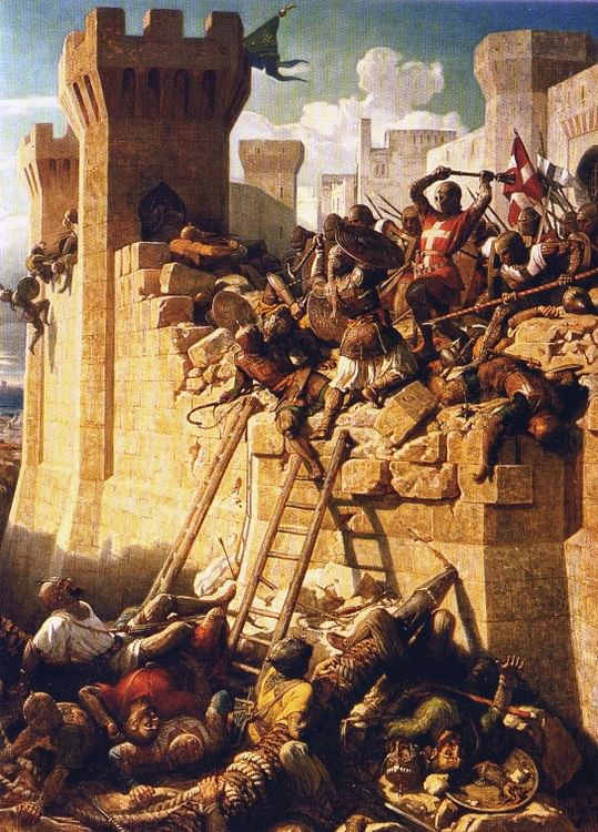 The Siege of Acre. 1291 CE (Illustration) - Ancient History Encyclopedia