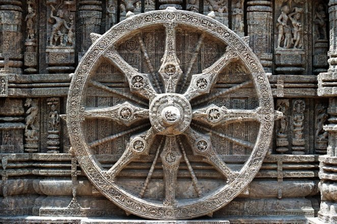 Dharma Wheel (Illustration) - Ancient History Encyclopedia