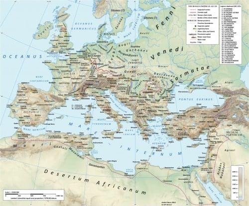 Roman Road Network