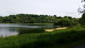 Lough Gur on recent tour of Ireland