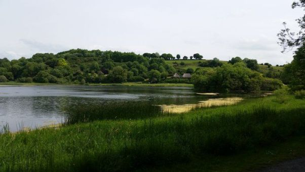 Lough Gur on recent tour of Ireland