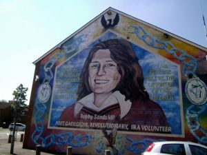 Bobby Sands MP on recent tour of Ireland