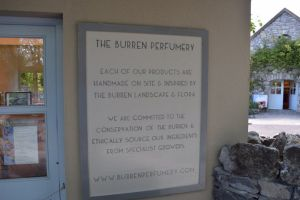 Burren Perfume Factory on tour of Ireland