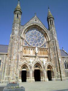 Clonard Monestary on recent tour of Ireland