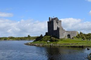 Dunguaire Castle in tour of Ireland