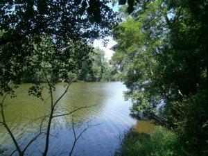 River Bann on recent tour of Ireland