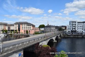 Tours of Ireland Athlone View from Castle