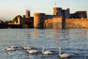 Pics from Ireland tours King John's Castle Limerick