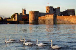 Pics from Ireland tours King John's Castle Limerick