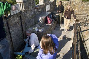 Ireland vacations Kiss the Blarney Stone