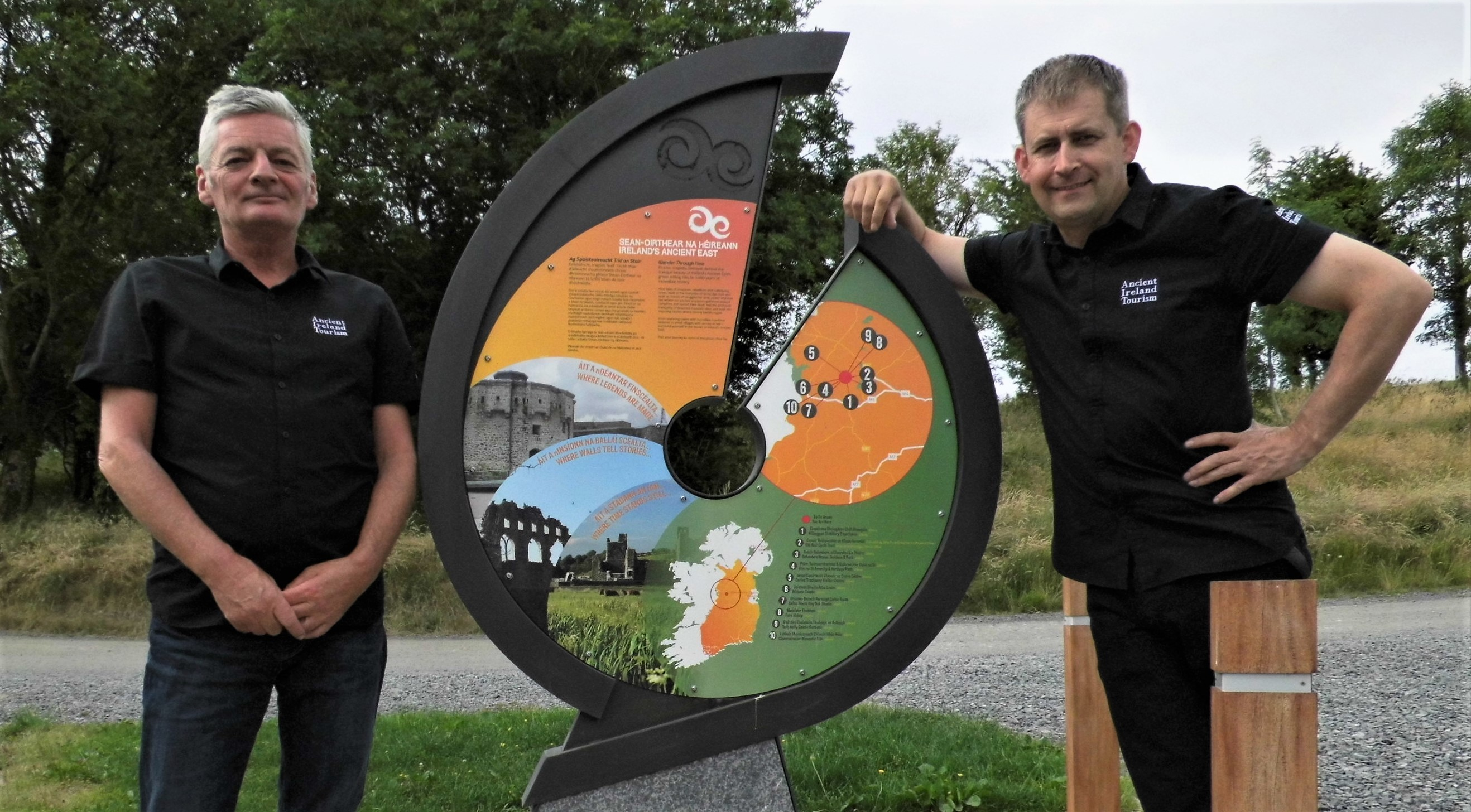 Ancient Ireland tourism Team