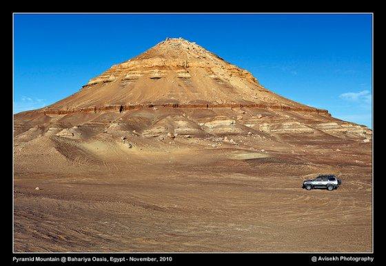 Estruturas sob o deserto do Saara