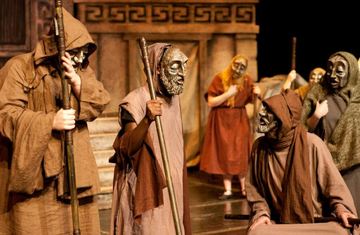 Image result for greek actors in masks pictures