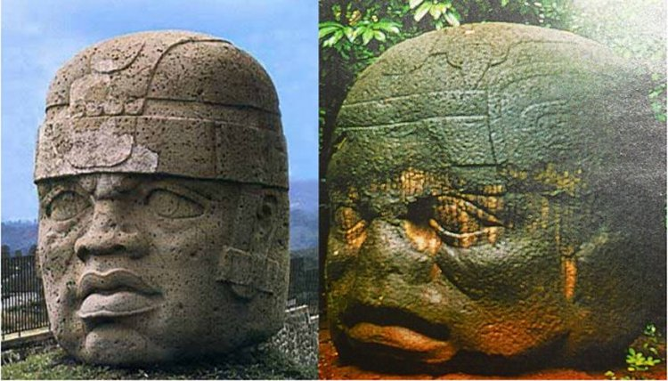 The Olmec portrayed Africans (perhaps African rulers) who must have played an important role among ancient people who carved gigantic depictions to honor them.