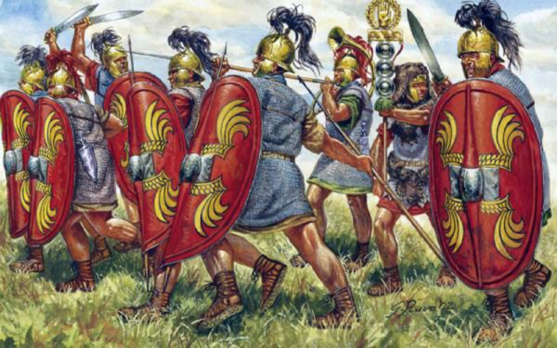 On This Day In History Julius Caesar Defeated Pompey The