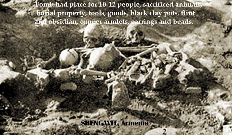 Shengavit ancient burial place