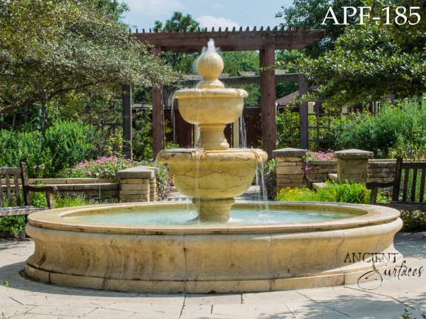 Lovely Examples Of Antique Limestone Pool