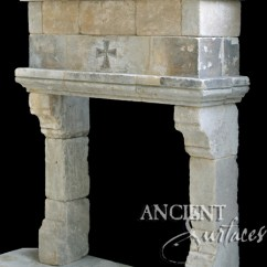 Sinks Kitchen Stand Alone Cabinets A Unique Collection Of Antique Stone Fireplace Mantles By ...