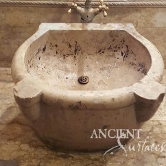 Metal Wall Tiles For Kitchen Kohler Sinks Home Depot Some Of The Most Intriguing Antique Limestone And Marble ...