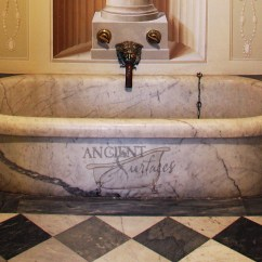 Design Your Own Kitchen Layout Aid Wall Oven Antique And New Limestone Marble Bath Tubs By Ancient ...