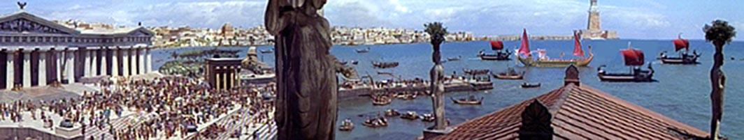 Chegada Romana a Alexandria