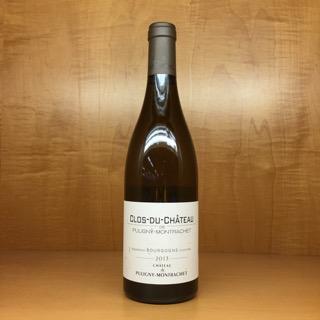 Chateau De Puligny-montrachet Bourgogne Blanc Clos Du Chateau 2013 - Ancona's Wine