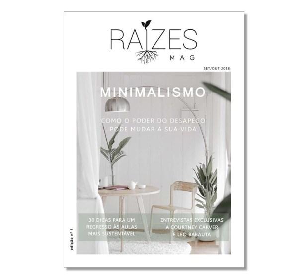 Capa Raízes Mag 1.ª edição