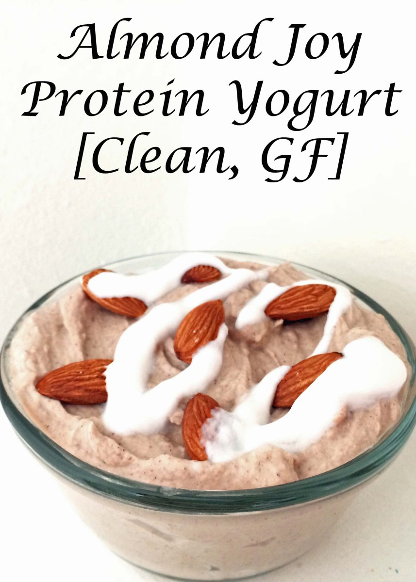 Almond Joy Protein Yogurt [Clean, GF]