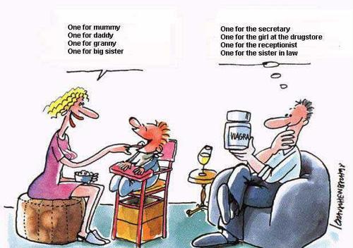Benak pikiran yang berbeda antara istri dan suami