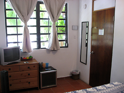Puerto Rico San Juan near beach guest house Andalucia Room Rates Queens Size Beds Kings Full