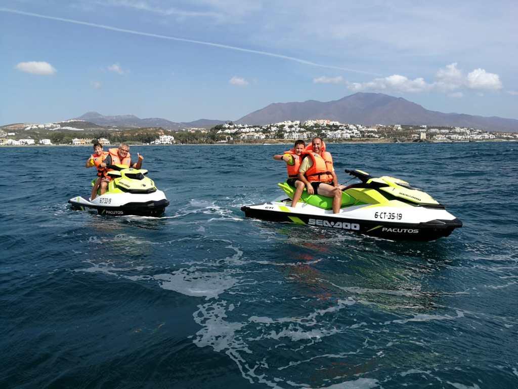 Rutas Motos de Agua Duquesa Sotogrande Estepona