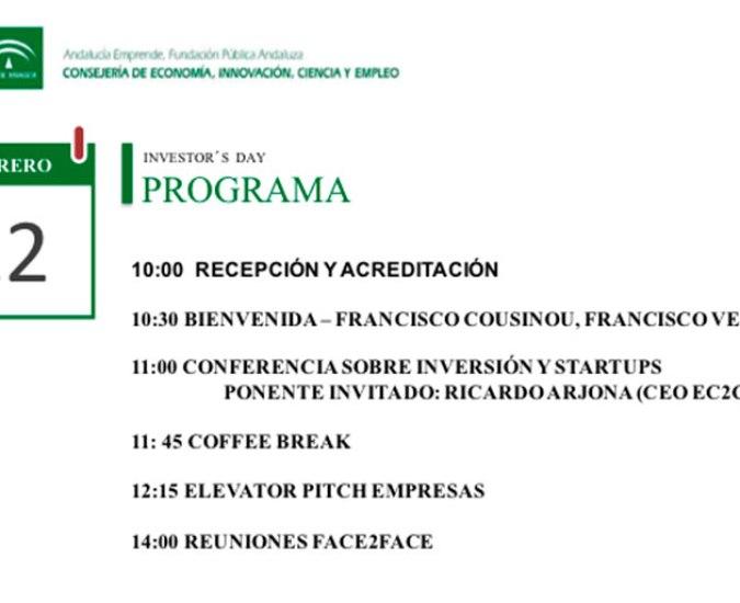 Foro Inversión Andalucía Emprende