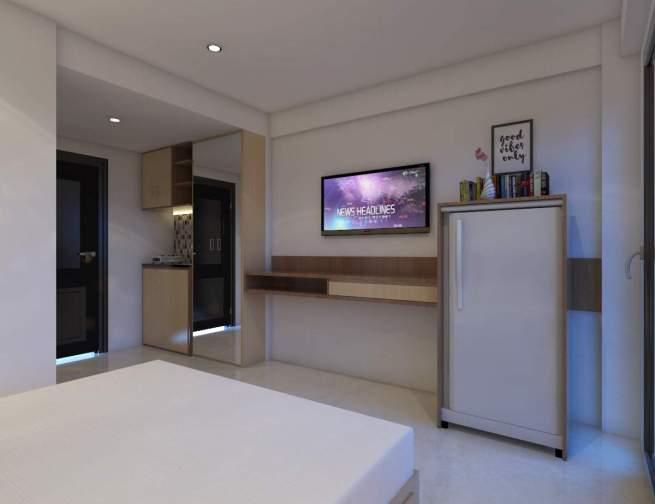 Paket Desain Interior Apartemen 1 Kamar Andalusia Furniture