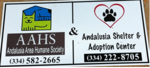 Friends of the Shelter sign