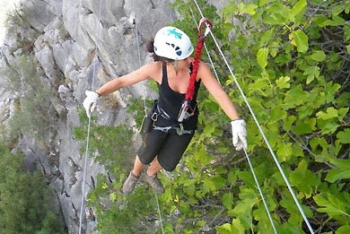 Via Ferrata Andalusien