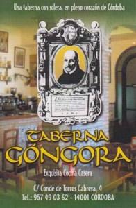 Taberna Gongora Cordoba