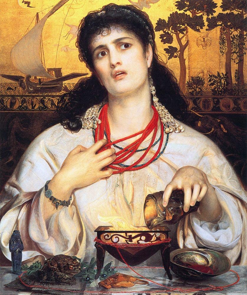 Medea, Anthony Frederick Sandys, 1868