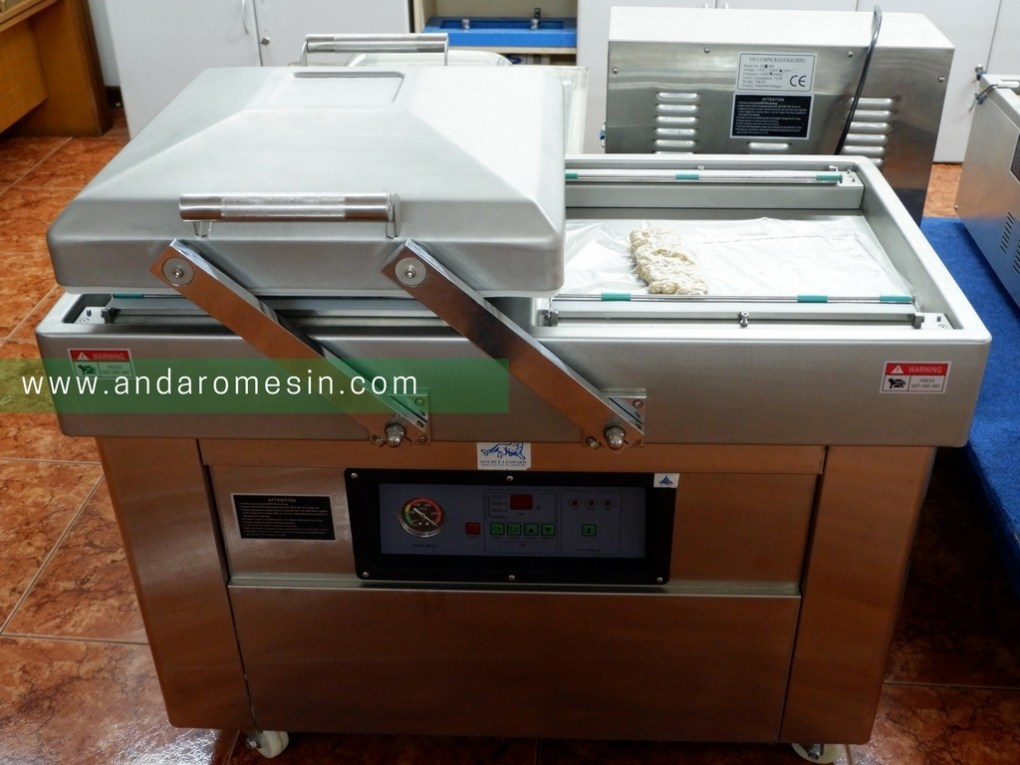 Mesin Vacuum Packaging Double Chamber
