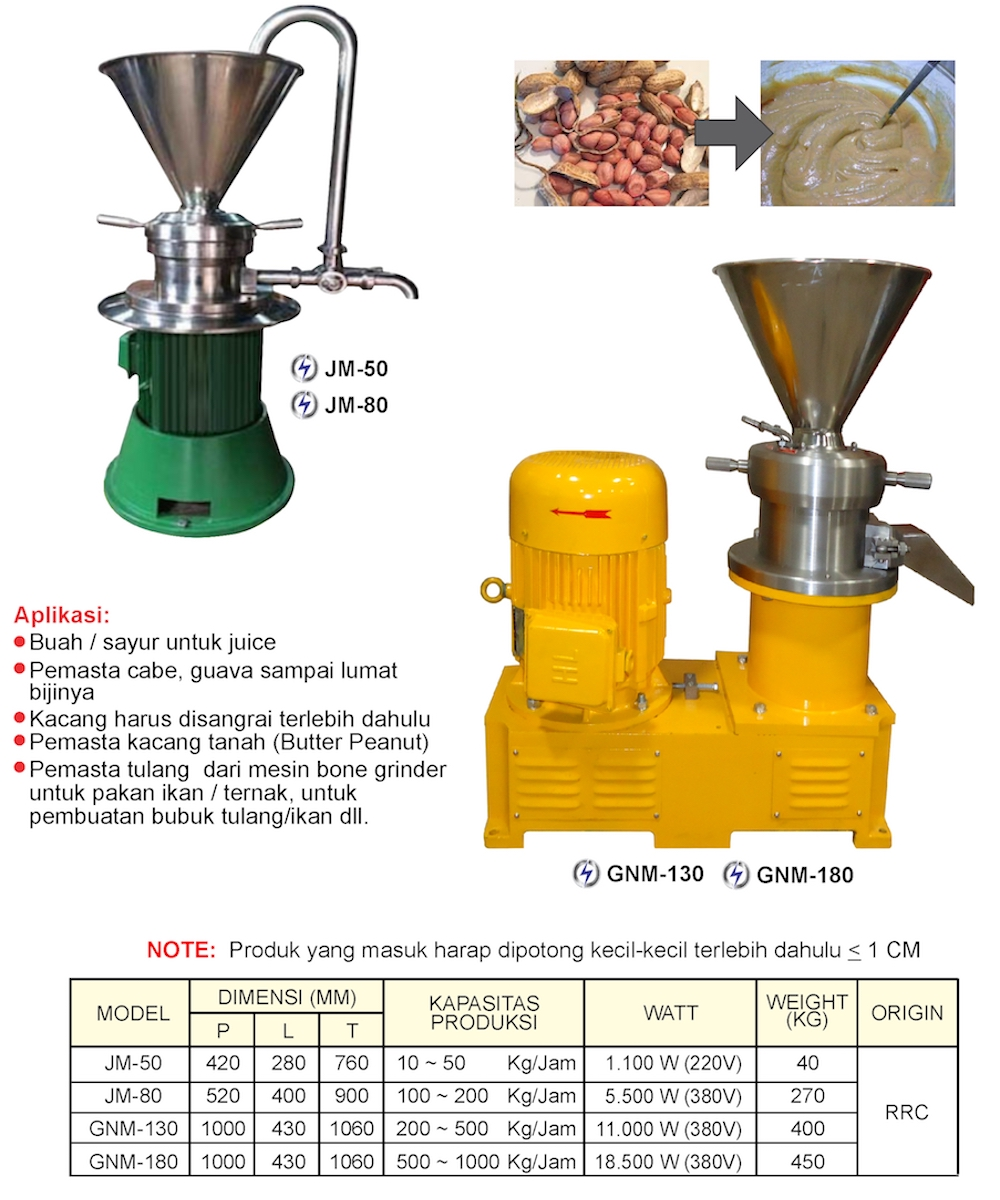 Broshur Colloid Mill