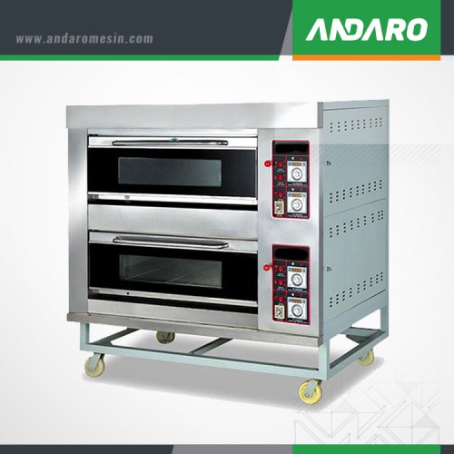 Oven Gas 2 Deck 4 Loyang ASTRO