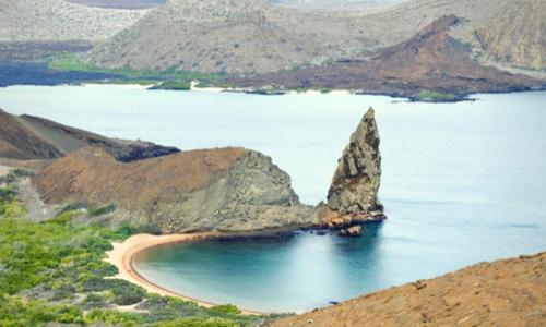 galapagos bay beach pinacle rock bartolome photography tour Ecuador & Galapagos