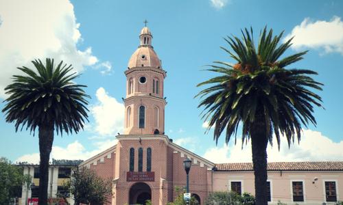 Otavalo church photography tour ecuador & Galapagos